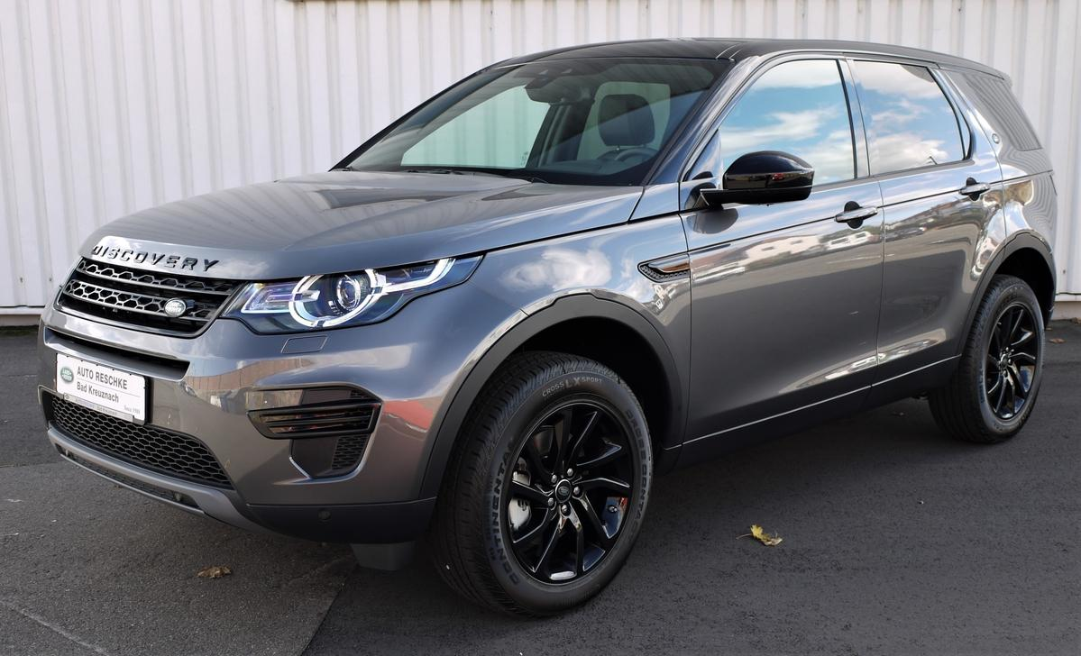 Land Rover Discovery Sport TD4 D180SE Black Pack/Pano Dach